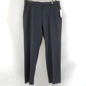 NWT Calvin Klein Men's Slacks 34x30 Black Straight
